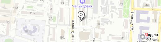 Центр красоты и здоровья Ольги Мишагиной на карте Копейска