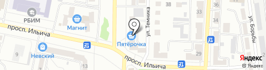 Магазин лакокрасочных материалов Tikkurila на карте Копейска