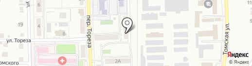 Почтовое отделение №16 на карте Копейска