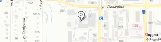 Копейский молочный завод на карте Копейска