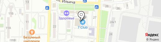 7club на карте Копейска