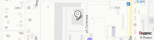 Банкомат, СМП Банк, ОАО Северный морской путь на карте Копейска