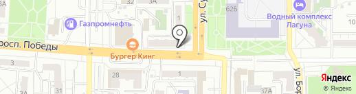 Уральские пельмени на карте Копейска