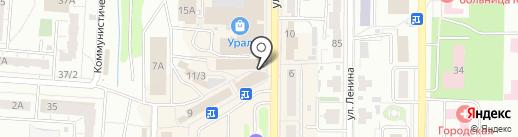 Магазин игрушек и товаров для дома на карте Копейска