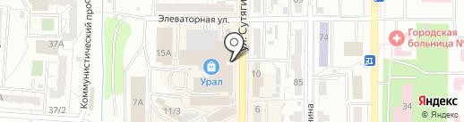 OpticFox на карте Копейска