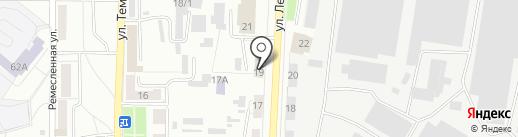Кронос-сервис на карте Копейска