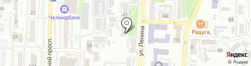 Почтовое отделение №18 на карте Копейска