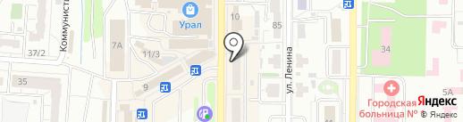 Торгово-монтажная фирма на карте Копейска