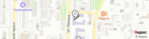 Компания по производству и реставрации мебели на ул. Ленина на карте Копейска