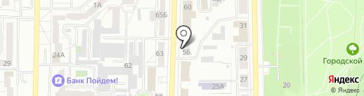 Южно-Уральский адвокатский центр на карте Копейска