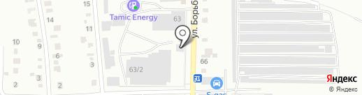 AutoFox на карте Копейска