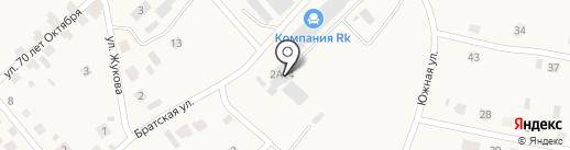 Царская Рыба на карте Петровского
