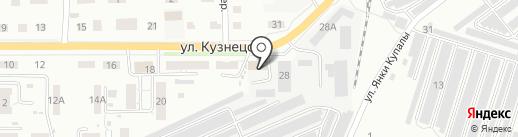 Дюпонт порошковые краски на карте Копейска
