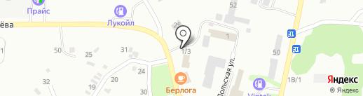 Кольцо на карте Копейска