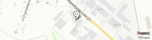 УПАКОВКА ЛЮКС на карте Копейска