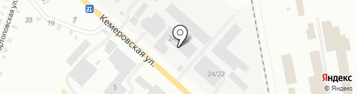 ЗТМ на карте Копейска