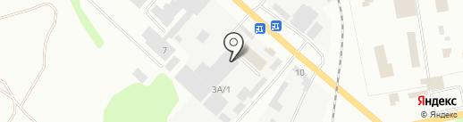 Копейская швейная фабрика на карте Копейска