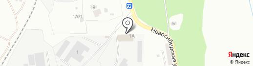 Бонарт на карте Копейска