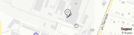 Копейский завод строительных материалов на карте Копейска