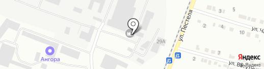 Завод строительных материалов №2 на карте Копейска