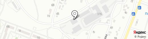 ТОРГСНАБ на карте Копейска