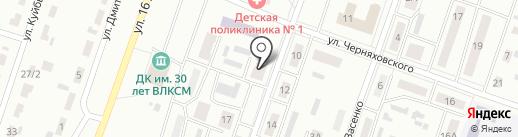 Государственная аптека на карте Копейска