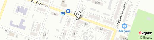 Копейская городская библиотека №2 на карте Копейска