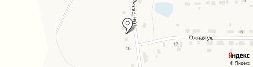Продуктовый магазин на карте Озерного