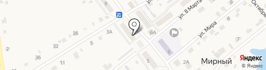 Аптечный пункт на карте Мирного
