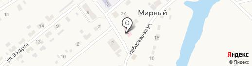 Козыревская амбулатория на карте Мирного
