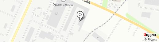 Уралвтормет на карте Каменска-Уральского