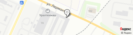 Уралсплавмет на карте Каменска-Уральского