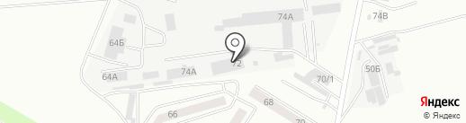 Метэко на карте Каменска-Уральского