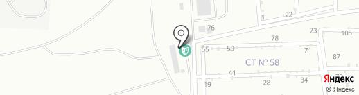 Шансон, FM 103.0 на карте Каменска-Уральского