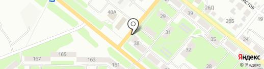 Магазин автозапчастей на карте Каменска-Уральского