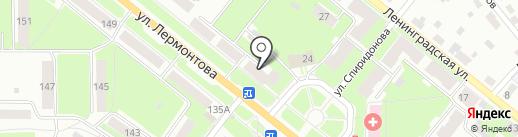 Живика на карте Каменска-Уральского