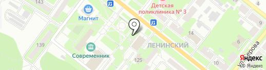 Киоск по продаже рыбы и мяса на карте Каменска-Уральского