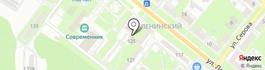 Магнит у дома на карте Каменска-Уральского