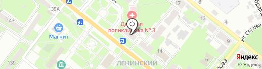 Тамерлан на карте Каменска-Уральского