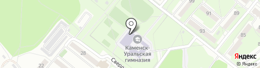Средняя общеобразовательная школа №4 на карте Каменска-Уральского