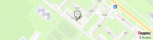 Квартирное бюро на карте Каменска-Уральского