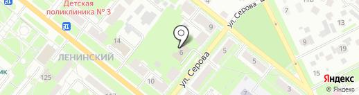 Королева Пряжи на карте Каменска-Уральского
