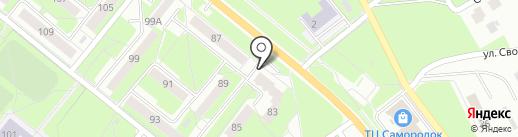 Living на карте Каменска-Уральского