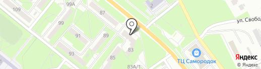 Радуга настроения на карте Каменска-Уральского