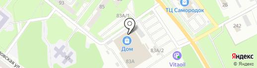 DOM на карте Каменска-Уральского