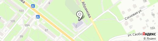 Каменск-Уральская специальная коррекционная общеобразовательная школа №24 на карте Каменска-Уральского