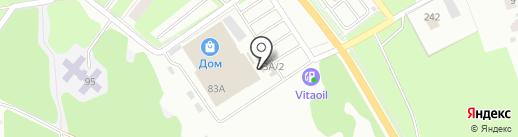 СТРОЙСНАБ на карте Каменска-Уральского
