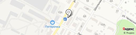 Магазин продуктов на карте Позарихи