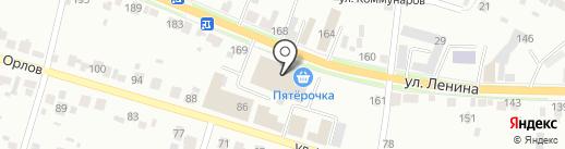 АвтоMobile на карте Каменска-Уральского