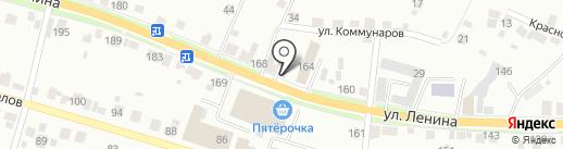 Каменск на карте Каменска-Уральского